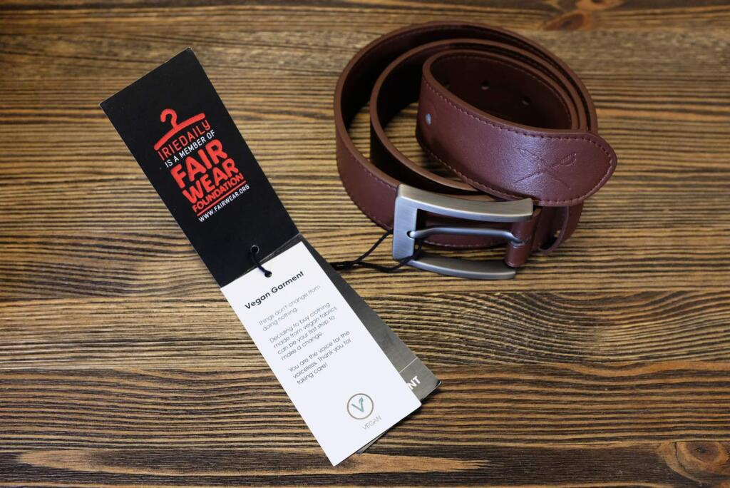 IRIEDAILY Items of the Week #52 Veder Belt