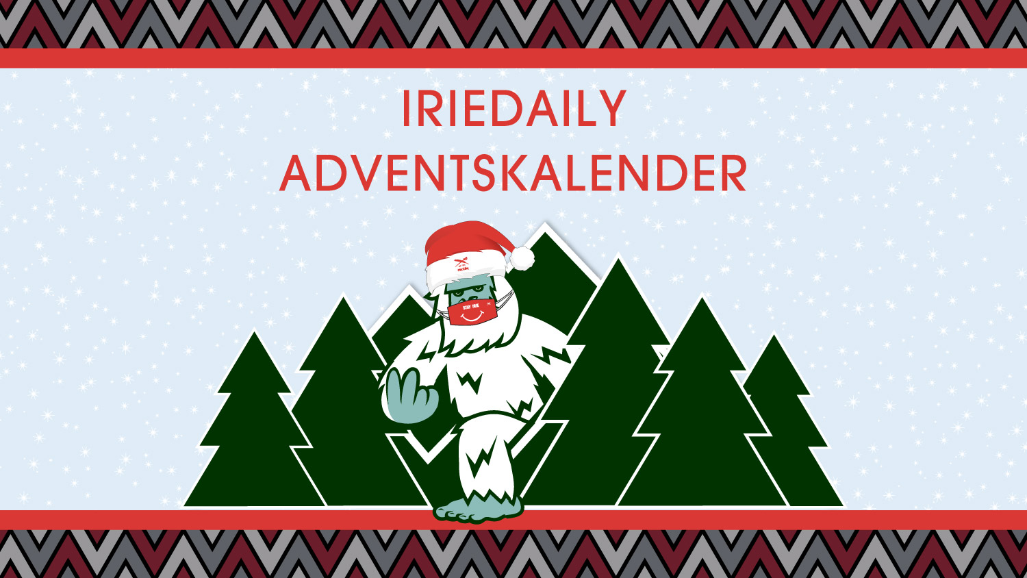 IRIEDAILY Adventskalender 2020 Blog