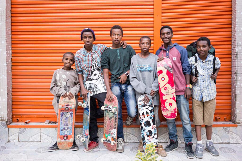 Daniel Reiter Ethiopia Skates